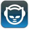 napster icon blue